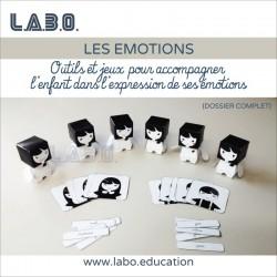 roue des émotions enfant